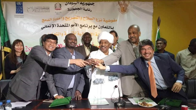 Agreement Signed Between Sudan and Italian