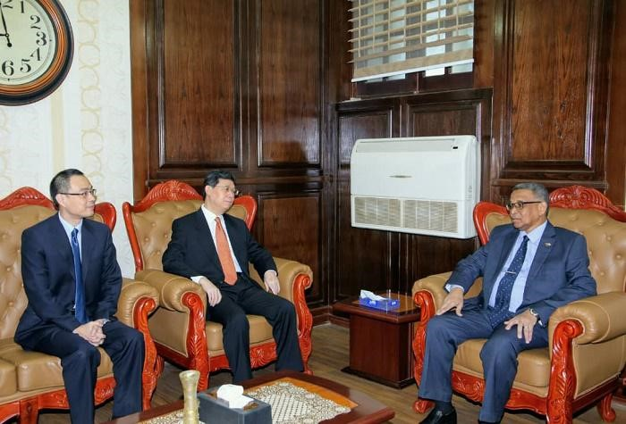Deputy Chief Justice Receives Chinese Delegation