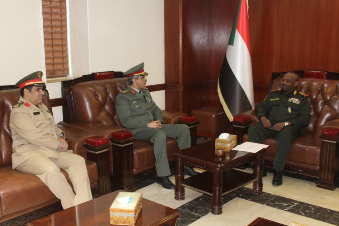 Minister of Defence Receives Congratulatory Message from his Saudi Counterpart