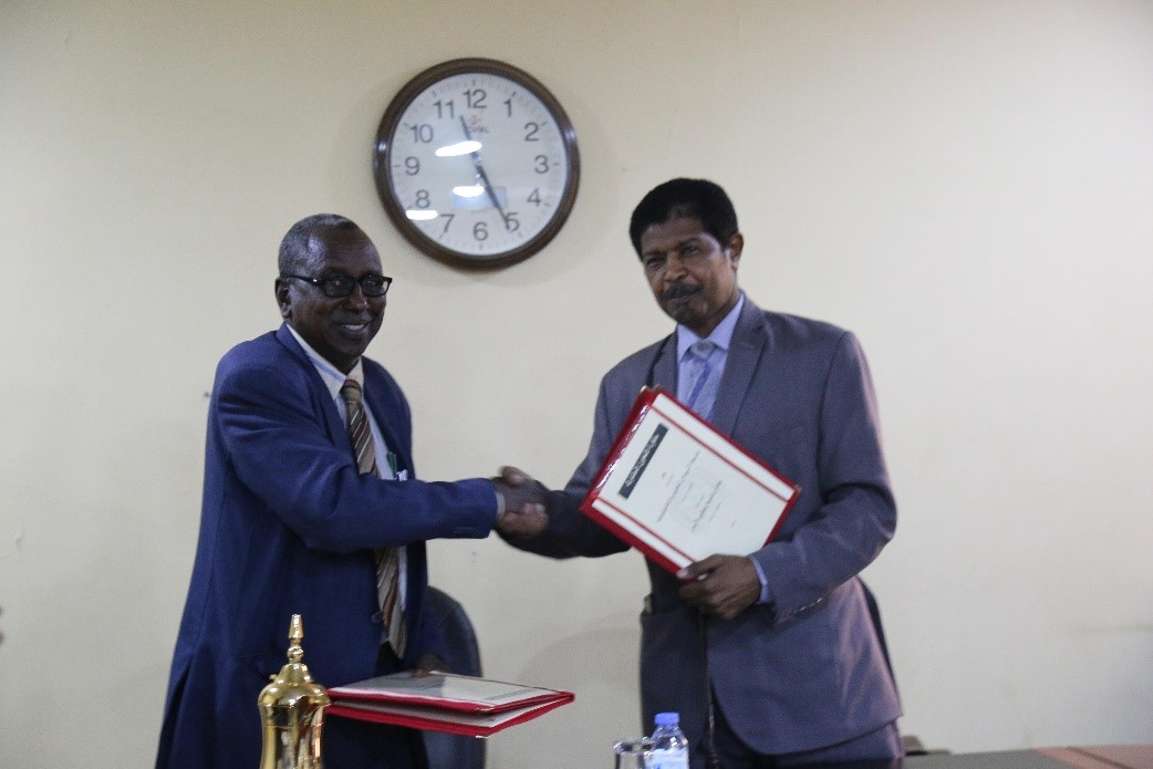 MoU for Development of Nomads Sector in University of Sudan