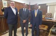Gamar Eddin meets Minister for African affairs at British Foreign Office