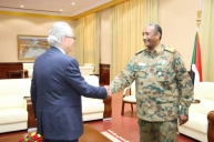 Al Burhan receives the Head of the EU mission in Khartoum